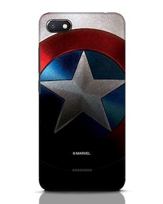 Shop Captain Xiaomi Redmi 6A Mobile Cover-Front