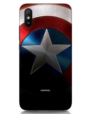 Shop Captain Xiaomi Redmi 9A Mobile Cover-Front