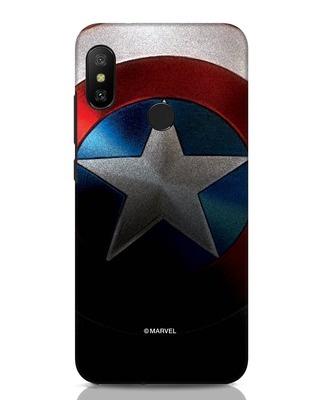 Shop Captain Xiaomi Redmi Note 6 Pro Mobile Cover-Front