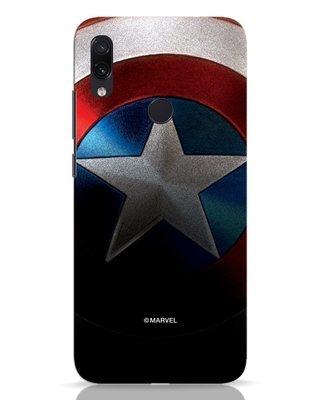 Shop Captain Xiaomi Redmi Note 7 Mobile Cover-Front