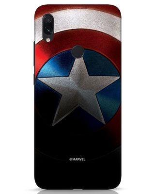 Shop Captain Xiaomi Redmi Note 7s Mobile Cover-Front