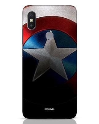 Shop Captain Xiaomi Redmi Y2 Mobile Cover-Front