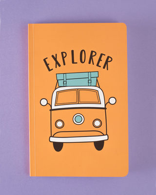 Shop Car Explorer Notebook-Front