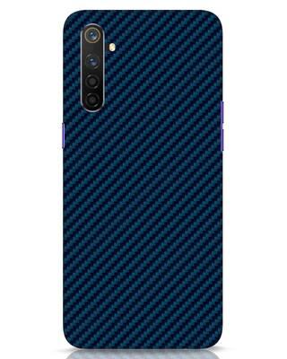 Shop Carbon Fiber Realme 6 Pro Mobile Cover-Front