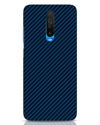 Shop Carbon Fiber Xiaomi Poco X2 Mobile Cover-Front