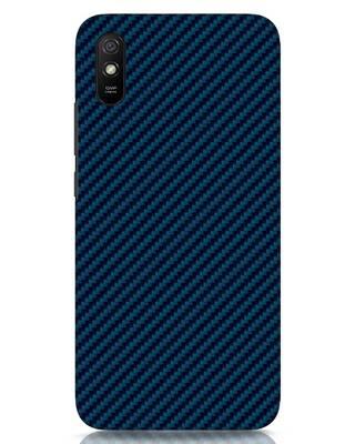 Shop Carbon Fiber Xiaomi Redmi 9A Mobile Cover-Front