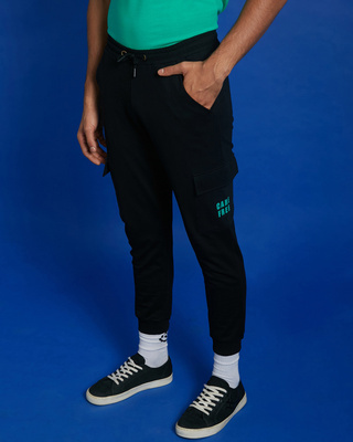 Shop Care Free Cargo Joggers Pants-Front