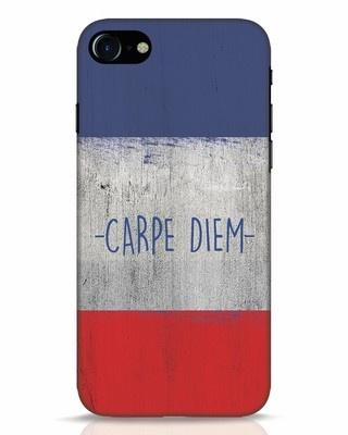 Shop Carpe Diem iPhone 8 Mobile Cover-Front