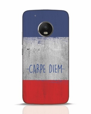 Shop Carpe Diem Moto G5 Plus Mobile Cover-Front