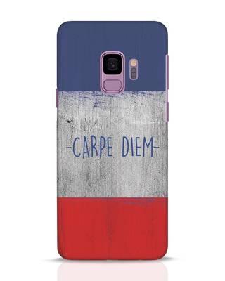 Shop Carpe Diem Samsung Galaxy S9 Mobile Cover-Front