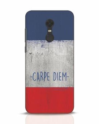 Shop Carpe Diem Xiaomi Redmi Note 5 Mobile Cover-Front