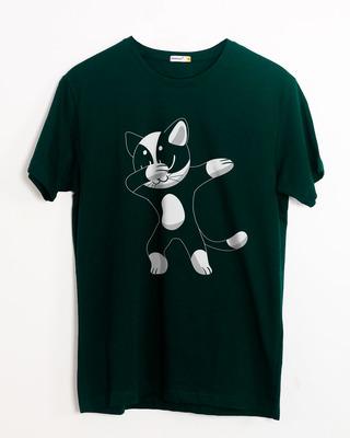 Buy Cat Dabbing Half Sleeve T-Shirt Online India @ Bewakoof.com