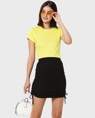 Shop Celandine Half Sleeve T-Shirt-Front