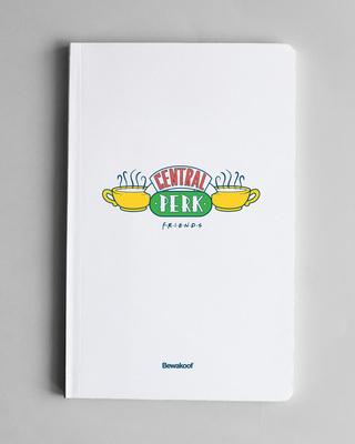 Shop Central Perk Soft Bound Notebook-Front