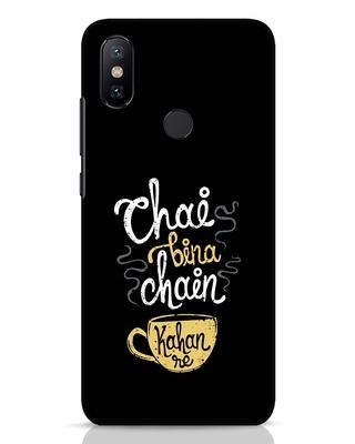 Shop Chai Bina Chain Kahan Re Xiaomi Mi A2 Mobile Cover-Front