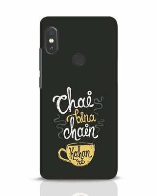 Shop Chai Bina Chain Kahan Re Xiaomi Redmi Note 5 Pro Mobile Cover-Front