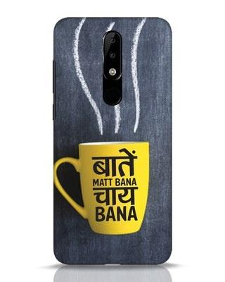 Shop Chai Nokia 5.1 Plus Mobile Cover-Front
