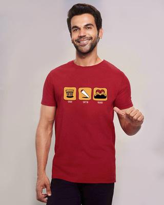 Shop Chai Yaari Half Sleeve T-Shirt-Front