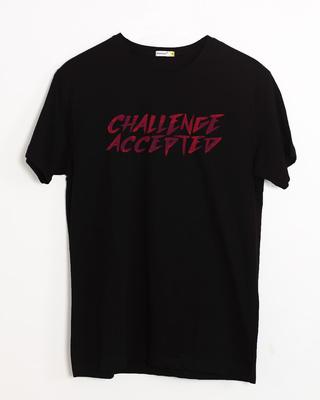 Buy Challenge Half Sleeve T-Shirt Online India @ Bewakoof.com