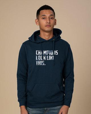 Shop Champions Look Like This Fleece Hoodies-Front