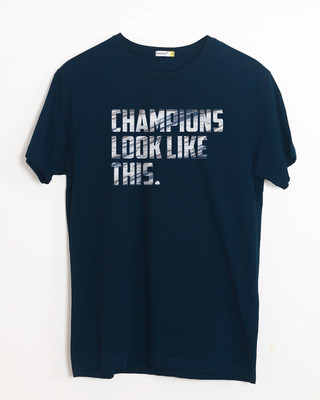 Shop Champions Look Like This Half Sleeve T-Shirt-Front
