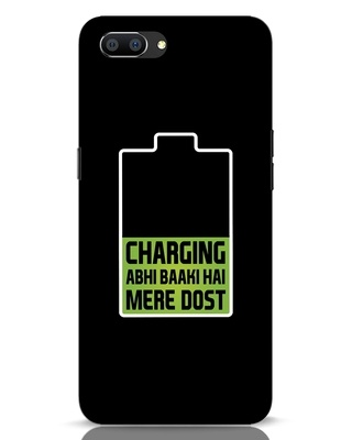 Shop Charging Abhi Baaki Hai Mere Dot Realme C1 Mobile Cover-Front
