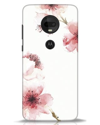 Shop Cherry Blossoms Moto G7 Mobile Cover-Front