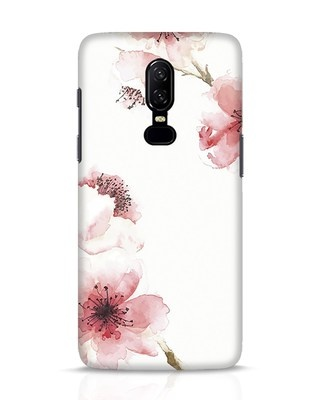Shop Cherry Blossoms OnePlus 6 Mobile Cover-Front