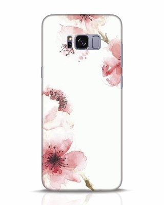 Shop Cherry Blossoms Samsung Galaxy S8 Plus Mobile Cover-Front