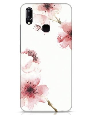 Shop Cherry Blossoms Vivo Y91 Mobile Cover-Front