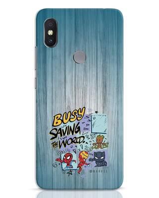 Shop Chibi Avengers Xiaomi Redmi Y2 Mobile Cover (AVL)-Front