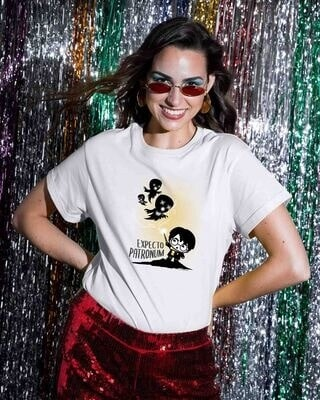 Shop Chibi Harry Boyfriend T-Shirt (HPL)-Front