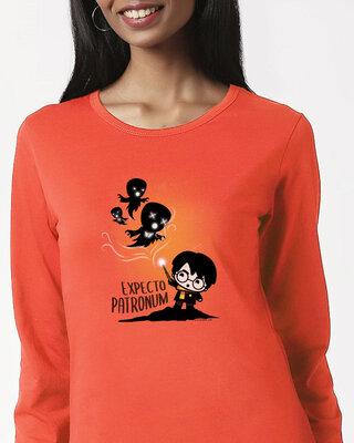 Shop Chibi Harry Full Sleeves T Shirt (HPL)-Front