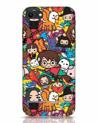 Shop Chibi Mix Potter iPhone SE 2020 Mobile Cover (HP)-Front