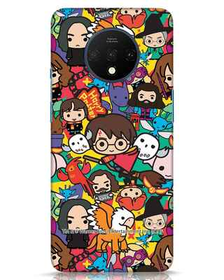 Shop Chibi Mix Potter OnePlus 7T Mobile Cover (HP)-Front