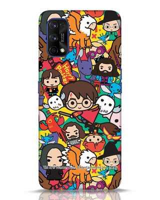 Shop Chibi Mix Potter Realme 7 pro Mobile Cover (HP)-Front