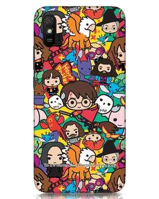 Shop Chibi Mix Potter Xiaomi Redmi 9A Mobile Cover (HP)-Front