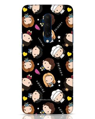 Shop Chibi Pattern OnePlus 7T Pro Mobile Cover (FRL)-Front