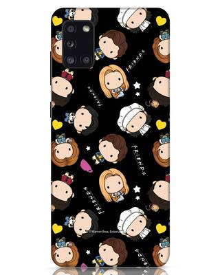 Shop Chibi Pattern Samsung Galaxy A31 Mobile Cover (FRL)-Front