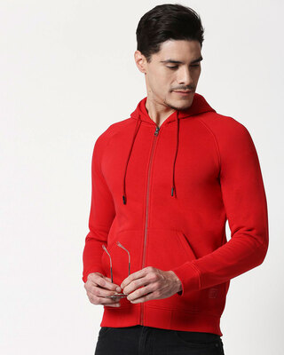 Shop Chili Pepper Zipper Hoodie-Front