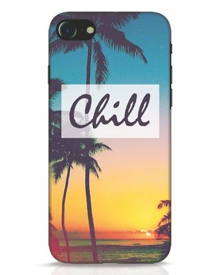 Shop Chill Beach iPhone 8 Mobile Cover-Front