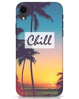 Shop Chill Beach iPhone XR Mobile Cover-Front