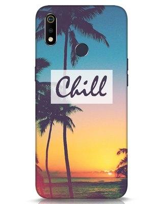 Shop Chill Beach Realme 3i Mobile Cover-Front