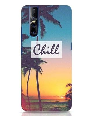 Shop Chill Beach Vivo V15 Pro Mobile Cover-Front