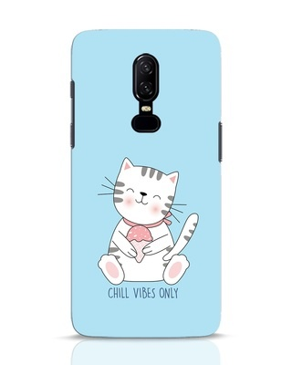 Shop Chill Vibes OnePlus 6 Mobile Cover-Front