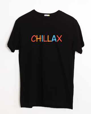 Buy Chillax Half Sleeve T-Shirt Online India @ Bewakoof.com