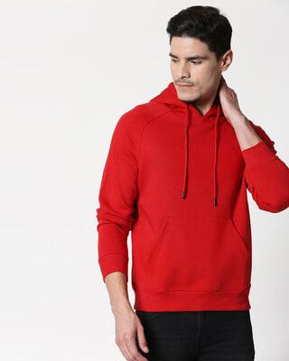 Shop Chilli Pepper Basic Hoodie Sweatshirt-Front