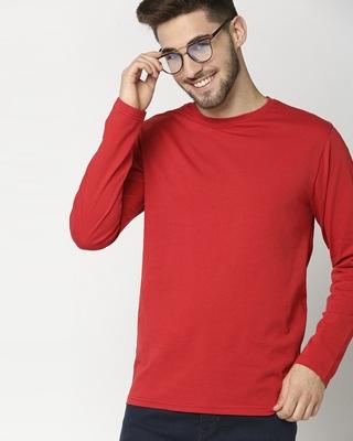 Shop Chilli Pepper Full Sleeve T-Shirt-Front