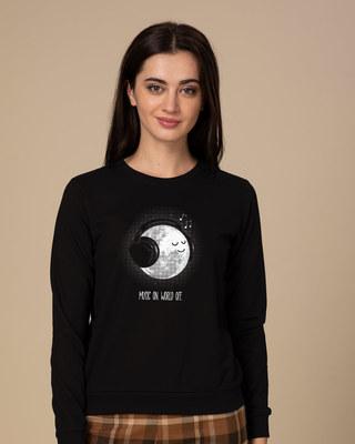 Shop Chilling Moon Sweatshirt-Front