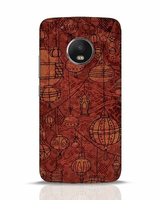 Shop Chinese Lanterns Moto G5 Plus Mobile Cover-Front